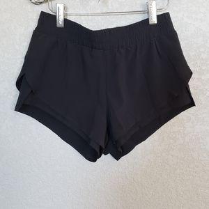 Fabletics three layer shorts